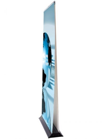 Double sided Speed rollaway bannerstand